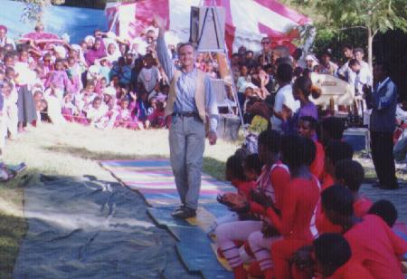 Marc Lachance, founder of Circus Ethiopia