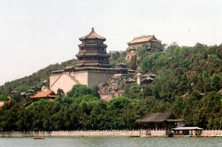 Summer Palace by Kunming Lake