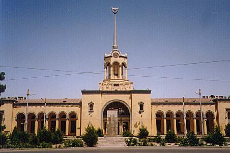 Ashghabat train station