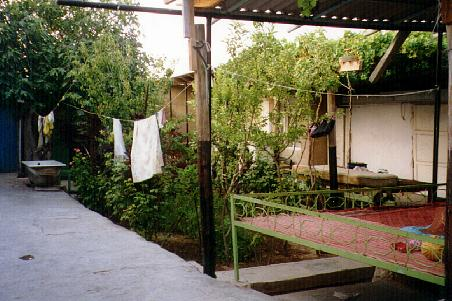 Courtyard of the Dhoranov home